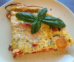 Köstliche Komposition aus Gemüse, Ei und Frischkäse. Sooooo einfach und sooooo lecker.