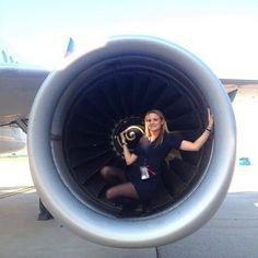Engine Crewfie