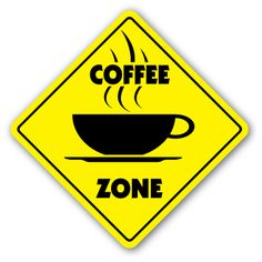 Coffee Zone Sign New Novelty Shop Beans Cup Gift Barista House Starbucks Java | eBay