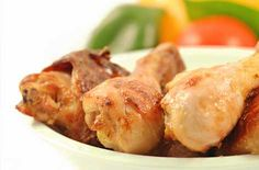 sesame roast chicken drumstick hero