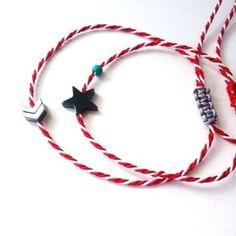 Μάρτης for her and him Jewelry Patterns, Statement Jewelry, Mars, Jewlery, Thoughts, Bracelets, Earrings, Projects, Crafts
