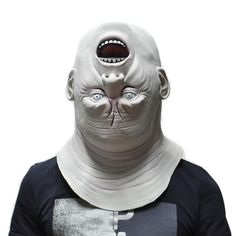 Creepy Upside-down Ghost Mask