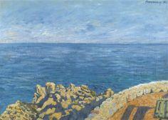 huariqueje: Sea - Karoly Ferenczy Hungarian, 1862–1917
