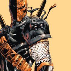"""I'm a goddamn killing machine."" Deathstroke - Tony S. Daniel"