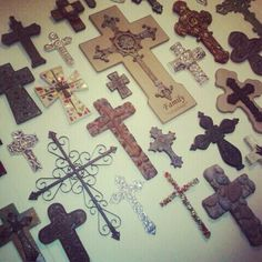 Love crosses...have a couple of those on my wall
