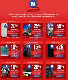 Mega 24 Promoções Worten - 24 horas de descontos online ate às 10h de 4ªfeira