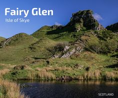 Discover the magical area of Fairy Glen Skye - off the beaten path on the isle of Skye, the formations look like a mini-Scotland - Guide to help you plan your visit with photo, video, info to get there and tips Scotland Hiking, Skye Scotland, Fairy Glen, Scottish Highlands, Trip Planning, Paths, Places To Go, How To Plan, World