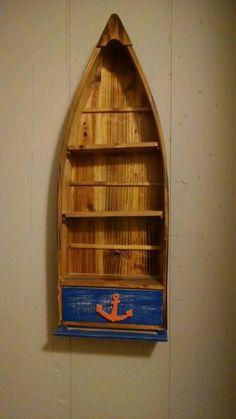 Boat shelf 36 inch tall so cool Beach themed