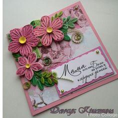 Quilling Flowers Tutorial, Paper Quilling Flowers, Paper Quilling Cards, Quilling Work, Arts And Crafts, Paper Crafts, Diy Crafts, Rakhi, Card Designs