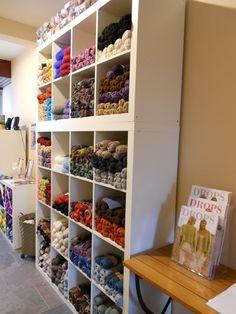 """DROPS Store """"La Compagnie des Laines"""" in Virton, Belgium"""