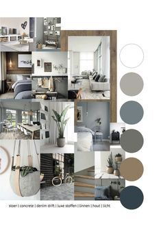Interior advice mood board interior advice for a warm interior with blue (den . Interior advice mood board interior advice for a warm interior with blue (denim drift). Cool and warm combined. Interior Paint Colors For Living Room, Living Room Interior, Home And Living, Interior, Home Decor, House Interior, Mood Board Interior, Room Decor, Home Deco