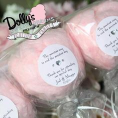 cotton candy favors