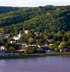 Madison, Indiana, on the banks of the Ohio River