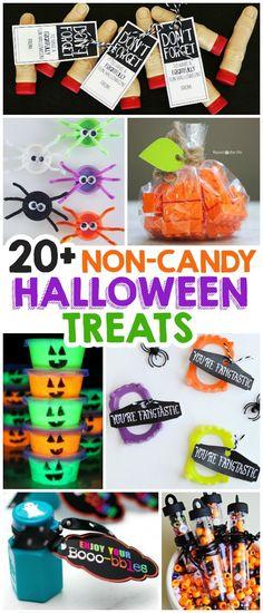 20+ Non-Candy Halloween Treats