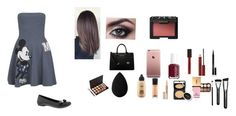 """""""Untitled #51"""" by madellynyenis ❤ liked on Polyvore featuring beauty, Paul & Joe Sister, NARS Cosmetics, MICHAEL Michael Kors, Essie, Kevyn Aucoin, beautyblender, MAC Cosmetics, Clinique and Lancôme"""