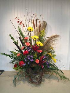 Image result for funeral plant arrangements