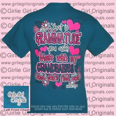Shirt Color : Galapagos Blue  To order, please visit  http://www.girliegirloriginals.com/index.php?main_page=product_info&cPath=33_1&products_id=1815  Actual color may vary from the color on your screen due to monitor color restrictions
