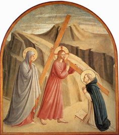 Christ Carrying the Cross by Fra Angelico