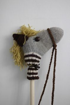 stick horse ~ easy project for tots