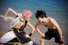 Natsu Dragneel from Fairy Tail Cosplay || anime cosplay