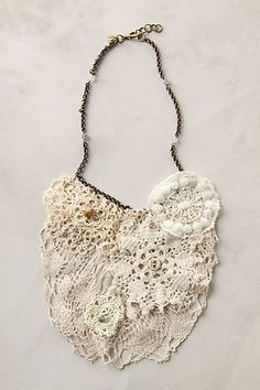 An Anthropologie necklace