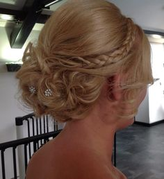 Beautiful Hair-Up by The Vinery's Hayley Sharp in Salon