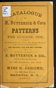 Catalogue of E. Butterick & Co's patterns for summer, 1871 Book Crafts, Craft Books, Read Later, The Old Days, Books Online, Spelling, Catalog, Letters, Personalized Items