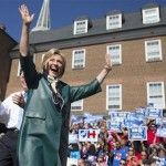 What I Saw at the Hillary Clinton Rally ~ Carpetbaggers for Hillary
