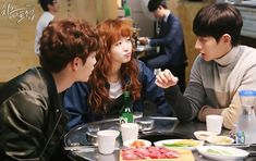 """Cheese in the Trap"": Kim Go Eun Eat out With Her Leading Men + New Poster"
