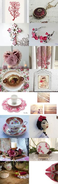 Red coral - the fire of the sea ... ❀༻ by Beth Lark on Etsy--Pinned+with+TreasuryPin.com
