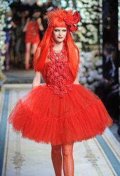 Lanvin for H&M Haute Couture Show - Runway