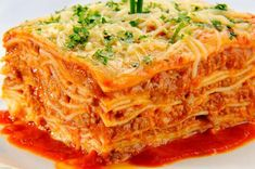 Who doesn't love a nice slice of lasagna?