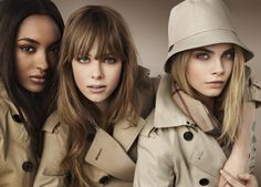 Burberry's Beauty Campaign for 2012