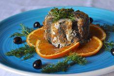 Tortino di sarde (o alici) con arance e olive