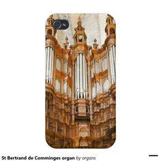 St Bertrand de Comminges organ iPhone 4/4S Covers