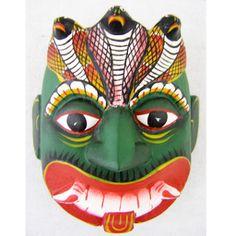 "4""x4"" Cobra Demon Mask-21 $20"