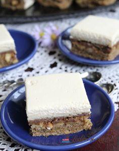 "Prajitura ""O noapte la Venetia"" - Lecturi si Arome Romanian Desserts, Food Cakes, Cake Recipes, Biscuits, Caramel, Sweet Treats, Cheesecake, Food And Drink, Pie"