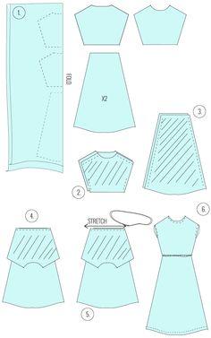 PATTERN PLAY // SIDE SLIT MAXI DRESS TUTORIAL