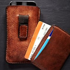 Card & iPhone Holders by Campomaggi