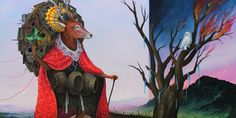 Surreal Depictions From A Pagan Fairy Tale World