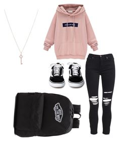 """""""Party"""" by mariliaioannou ❤ liked on Polyvore featuring AMIRI, Vans and Tiffany & Co."""