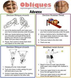 Obliques Exercises 1000+ images about Obl...