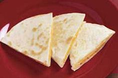 Use our Cheese Quesadilla Recipe for an easy, tasty dish! We're not exaggerating when we say our Cheese Quesadilla Recipe can be ready in next to no time. Kraft Foods, Kraft Recipes, Gourmet Recipes, Mexican Food Recipes, Cooking Recipes, Diabetic Recipes, Brunch Recipes, Healthy Recipes, Vegans
