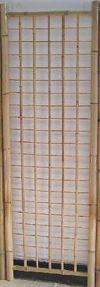 Classic Bamboo Gridwall Panel - 5 Foot