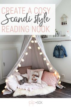 Winter time means curling up with a good book while the rain pelts down outside. There's something so wonderful (and very hygge) about creating a cosy reading nook.  On this week's The Design Edit where sharing inspiration and ideas to create a reading space for your little one.