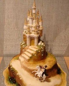 torta de boda fondant