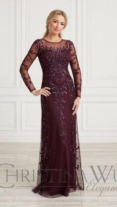 Pageant Dresses, Bridal Dresses, Christina Wu, Mother Of The Bride Gown, Special Occasion Dresses, Evening Gowns, Designer Dresses, Elegant, Boat Neck
