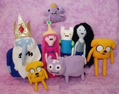 Adventure time dolls...lumpy space princess I want you.
