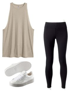 """""""Untitled #166"""" by lignonolivia on Polyvore featuring Jockey and Puma"""