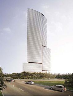 (SP) São Paulo | Marginal Pinheiros | Berrini One | 139m e 34 andares | Aflalo & Gasperini - SkyscraperCity